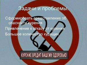 Какой вред наносит курение