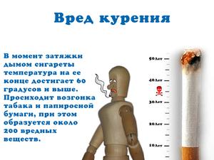 Влияние курения на организм человека, последствия