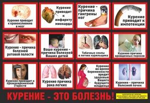 хронические заболевания при курении