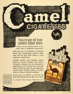 Реклама в первой половине XX века