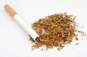 Компоненты в сигарете
