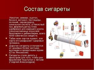 Какой вред наносит легким сигареты